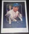 Carl Hubbell Autographed 16x20 Pelusso (New York Giants)