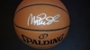 Magic Johnson - Autographed Basketball (Los Angeles Lakers)