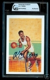 K.C. Jones Autographed Postcard (Boston Celtics)