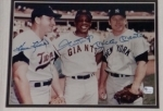 Mickey Mantle / Willie Mays / Harmon Killebrew-Autographed 8x10-GAI