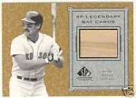 Wade Boggs Game Bat Card (Boston Red Sox)