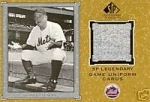 Casey Stengel Jersey Card (New York Mets)