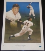 Willie Mays Autographed Pelusso (New York Giants)