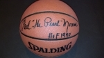 Earl Monroe Autographed Basketball (New York Knicks)