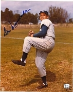 Don Newcombe Signed 8x10 (Brooklyn Dodgers)