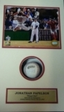 Jonathan Papelbon-Autographed Baseball in Shadow Box (Boston Red Sox)