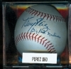 Autographed Baseball Tony Perez- big Red Machine-GAI (Cincinnati Reds)