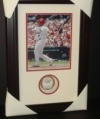 Albert Pujols Autographed Baseball in Shadow Box (UDA)  (St Louis Cardinals)
