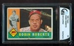 Robin Roberts Autographed Card (Philadelphia Phillies)
