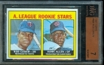 Rod Carew / Hank Allen (Minnesota Twins)