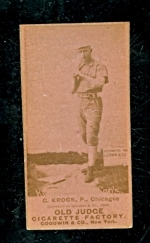 gus krock (Chicago) Batting