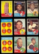 1963 Topps Complete Set