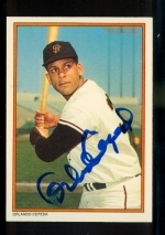 Orlando Cepeda Autographed Card (San Francisco Giants)