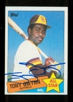 Tony Gwynn AS Autographed Card (San Diego Padres)