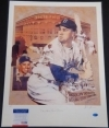 Duke Snider 16x20 Autographed Pelusso (Brooklyn Dodgers)