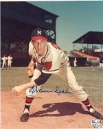 Warren Spahn Signed 8x10 (Milwaukee Braves)