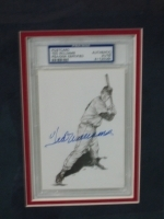 Ted Williams Autographed Piece-PSA/DNA (Boston Red Sox)
