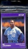 Bo Jackson Star Set (Kansas City Royals)