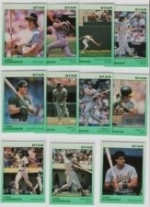 Jose Canseco Star Set (Light Green) (Oakland Athletics)