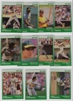 Jose Canseco Star Set (Oakland A's)