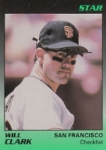 Will Clark Star Set (San Francisco Giants)