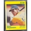 Ricky Henderson Star Set (Oakland Athletics)
