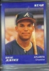 Dave Justice Star Set (Atlanta Braves)