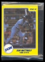 Don Mattingly Star Set (New York Yankees)
