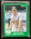 Mark McGwire Star Set (Green) (Oakland Athletics)