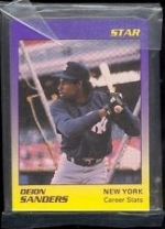 Deion Sanders Star Set (New York Yankees)