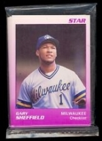 Gary Sheffield Star Set (Milwaukee Brewers)