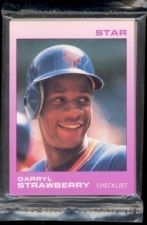 Darryl Strawberry Star Set (Light Purple) (New York Mets)