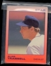 Alan Trammell Star Set (Detroit Tigers)