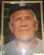 Casey Stengel -Autographed 8x10 -PSA/DNA (New York Yankees)