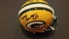 Fuzzy Thurston / Bob Skoronski Autographed Mini Helmet (Green Bay Packers)
