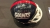 Y.A. Tittle Autographed Mini Helmet (New York Giants)