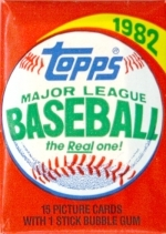 1982 Topps Wax Pack