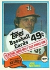 1981 Topps Cello Pack