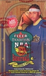 2003-04 Fleer Tradition - 36 Packs