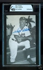 Walt Alston Autographed Postcard (Los Angeles)
