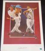 Ted Williams 16x20 Autographed Pelusso (Boston Red Sox)