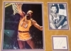 Wilt Chamberlain-Framed Autograph-PSA/DNA kiosk (Los Angeles Lakers)