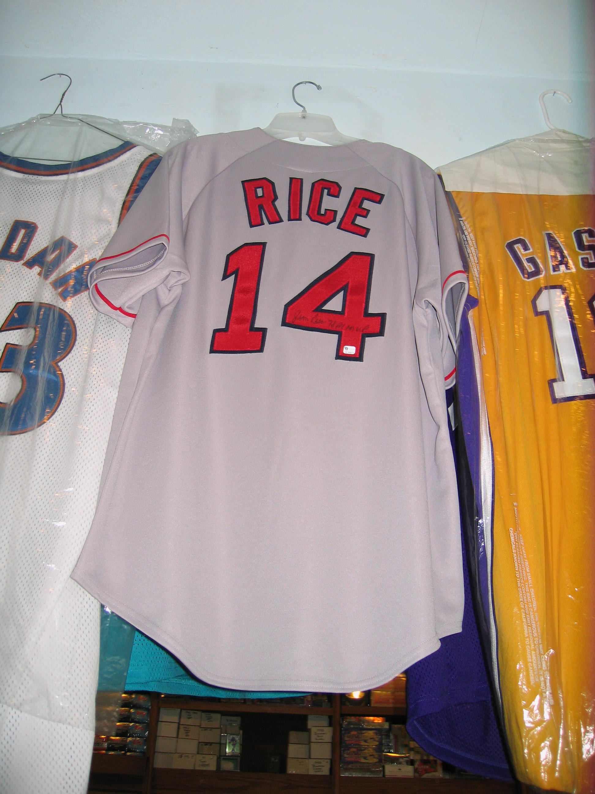 Jim Rice Autographed Jersey (Boston Red Rox)
