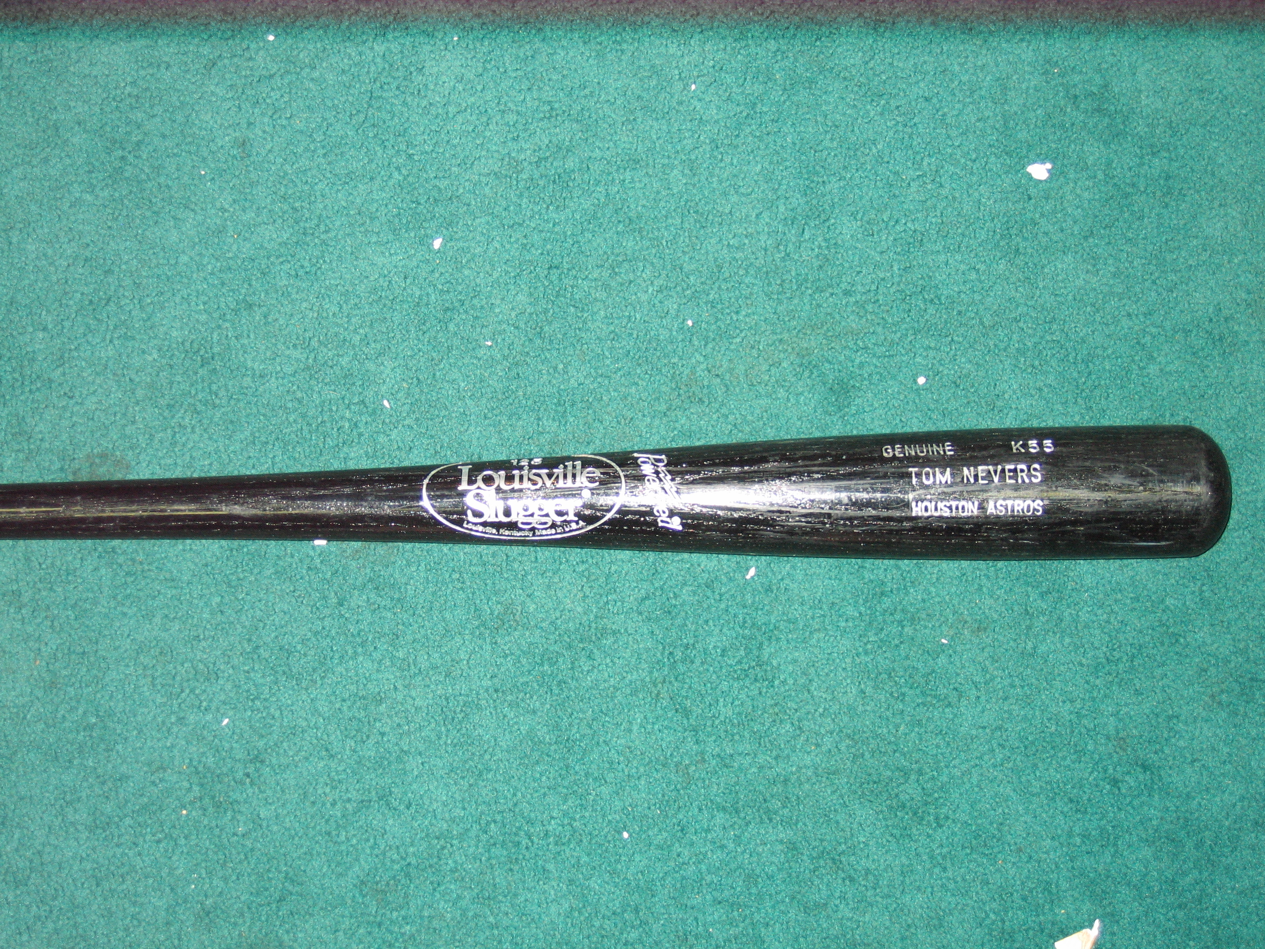 Tom Nevers Game Used Bat (Houston Astros)