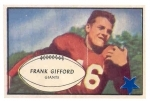Frank  Gifford SP (New York Giants)
