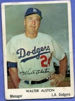 Walter Alston SP (Los Angeles Dodgers)