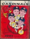 1961 St. Louis Cardinals Yearbook (St. Louis Cardinals)