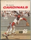 1965 St. Louis Cardinals Yearbook (St. Louis Cardinals)