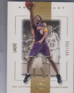 Kobe Bryant #'d /750 (Los Angeles Lakers)