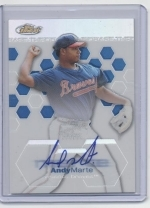Andy Marte Auto RC (Atlanta Braves)